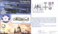 RAFA 20 Scarce The Night Blitz RAF cover signed GREAVES Great Fire Postmark