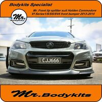 Mr. Front Lip Splitter -Holden Commodore VF Series 1 S/SS/SV6 Font Bumper/575