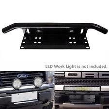 """23"""" License Plate Holder Light Mount Aluminum Bull Bar Style Number Plate Frame"""