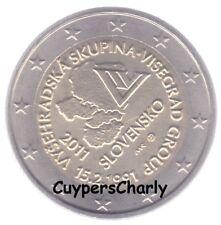 Slowakije 2011 2€ UNC Visegrad