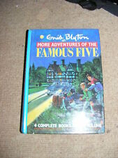 More Adventures of The Famous Five Enid Blyton HB 4 novels in one book mystery