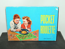 Pocket Roulette Toy Works with Chip Tokens (15091)