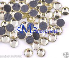 70pcs 6mm ss30 Jonquil Yellow Flat Back DMC A+ Glass Hotfix Rhinestones C15