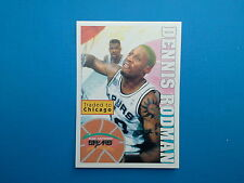 1995-96 Panini NBA Basketball Sticker N.189 Dennis Rodman San Antonio Spurs