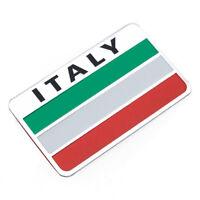 Sticker Aufkleber Emblem Flagge Autoaufkleber Italien Italy Metall selbstklebend