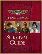 The Kane Chronicles Survival Guide by Rick Riordan Hardcover NEW