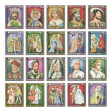 FUJERIA Minkus Catalog 1023-1042 Michel 1181-1200 IMP CMPLTE SET MNH FRENCH KING
