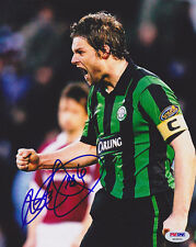Steven Pressley SIGNED 8x10 Photo Scotland *VERY RARE* PSA/DNA AUTOGRAPHED