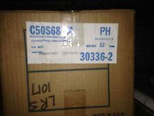 CASE OF 12, 50 WATT HIGH PRESSURE SODIUM LAMPS LU50/MED C50S68  HPS PHILIPS