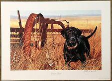 "Stephen P Hamrick ""Working Hard"" S/N Ltd Ed Print with COA #96/999"