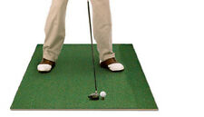 Golf Range Hitting Mat 3' x 4' Personal Indoor Mat Golf Swing Training Aid