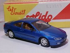 4 INCH Peugeot 406 Coupé 1998 Solido 1/43 Diecast Mint in Numbered Box