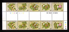 Norfolk Island:Scott 287 in two sets with Inter-Space,  Birds,Mint, NH. NK01
