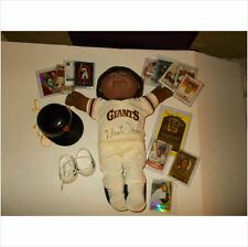 CABBAGE PATCH KIDS BASEBALL HANDSIGNED DOLL BY PLAYER! MONTE IRWIN VHTF!