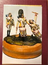 """White Metal Model Kit - """"Steady The Drums And Fifes"""". About 70mm Scale"""