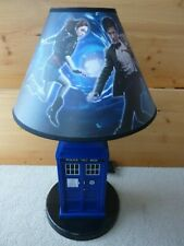 Doctor Who TARDIS lamp from 2009 11th Dr. & Amy Pond has sound effects very cool