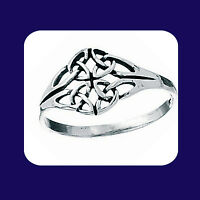 Celtic Ring Sterling Silver Celtic Ring Ladies Silver Ring