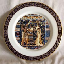 "Treasures of Tutankhamun Plate Gorham ""The Ivory Chest"" 10.75""  PERFECT !!!"
