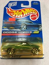 Hot wheels 1999 Collector number 1059 Dodge ram 1500 green with 5 Hole wheels B4