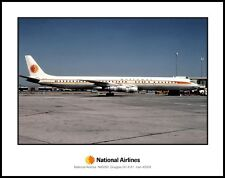 National Airlines Douglas DC-8-61 11x14 Photo (B031RGJC11X14)