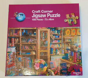 Craft Corner 1000 Piece Jigsaw Puzzle - Puzzle World