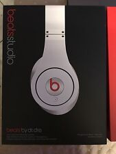 Beats by Dr. Dre Studio Headphones - White