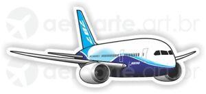 Boeing 787 aircraft sticker