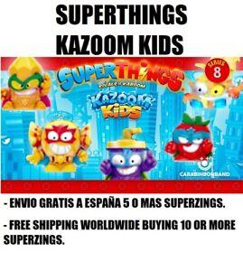 SUPERZINGS KAZOOM KIDS SERIE 8 SUPERTHINGS