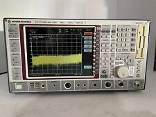 ROHDE & SCHWARZ SPECTRUM ANALYZER FSEB30 FSEB 30 1066.3010.30 / 7 GHz