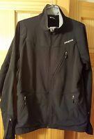 Patagonia Jacket Men's Size Medium Black Windbreaker Performance Full Zip