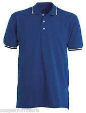 Polo Unisex Payper Italia cotone 100 Manica corta tricolore L Bly Royal