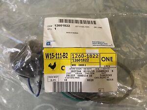 GENUINE GM DUAL KNOCK SENSOR WIRE HARNESS LS1 LQ9 LS6 6.0 5.3 4.8 GM# 12601822