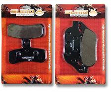 Harley F+R Brake Pads Super Glide Custom & Street Bob (08-14) Low Rider Fat Boy