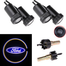 4x LED Car Door Welcome Logo Light Step Ghost Shadow Laser Projector for Ford