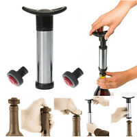 Home Cookware, Dining & Bar Supplies Champagne Vacuum Wine Bottle Freshen Stop Preserver AirPump Sealer Plug 8.5cmTI