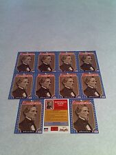 *****Jefferson Davis*****  Lot of 11 cards / 1992 Starline Americana