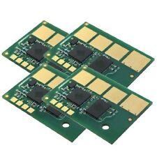4 x Toner Chips for Lexmark C792E C792DE C792DHE C792DTE '' C792A1CG ~ C792A1KG