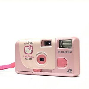 Fujifilm Hello Kitty Epion Sanrio Point & Shoot APS Film Camera EXC+ TK06B