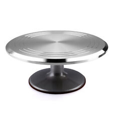 "12"" Rotating Revolving Cake Stand Decorating Plate Kitchen Turntable Display DIY"
