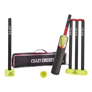 Ram Cricket Crazy Cricket Set - Micro - Plastic Set Inc. Bat, Stumps, Ball & Bag