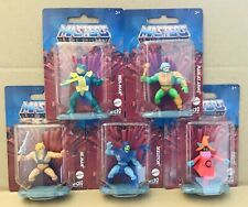 Masters Of The Universe MATTEL Micro Collection 2? Action Figure Set of 5 HE-MAN