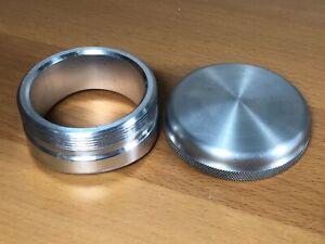 "Mooneyes Moon 2.25"" Bung MPX225B and MP606N Gas Cap, Aluminum"