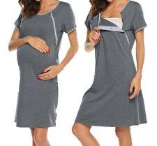 Nachthemd Stillnachthemd Stillen Schwangerschaft Stillmode Neu Hemd Stillkleid
