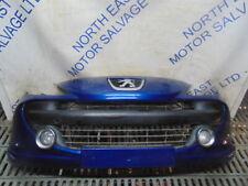 2007 Peugeot 207 Sport Blue Front Bumper