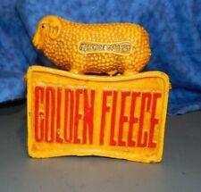 GOLDEN FLEECE (SYDNEY) Oil Products CAST IRON STILL COIN BANK Sheep ADVERTISING