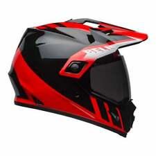 Bell 2020 Adults MX-9 Adventure MIPS Helmet - Dash Black/Red/White