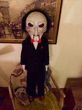 Saw Jigsaw Puppet Annabelle Doll Chucky Halloween Lifesize Horror Movie Prop 1:1