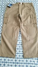 NEW!!! Woodland Kneedz Work wear Ultrasoft FR pants Tan 42X30