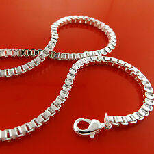 S/F Solid Heavy Chunky Design Fs3A947 Necklace Chain Real 925 Sterling Silver