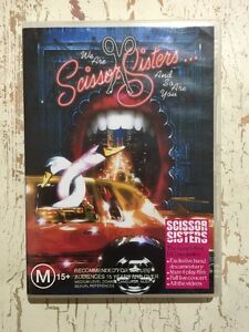 We Are The SCISSOR SISTERS And So Are You (Music DVD R-ALL 2004) LIVE + DOCO VGC